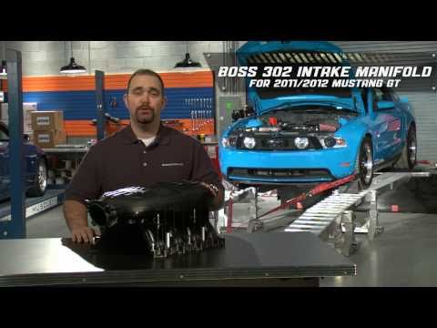 2011-2012 Mustang GT Boss 302- Intake Manifold Gains 61 HP