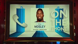 Ravens LB CJ Mosely Talks Playoffs & More w/Rich Eisen | Full Interview | 1/2/19