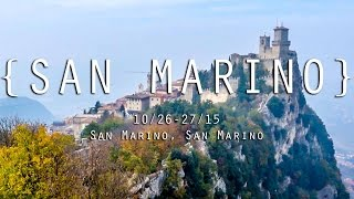 THE TINY COUNTRY OF SAN MARINO!
