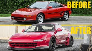 BUILDING AN MR2 IN 10 MINUTES
