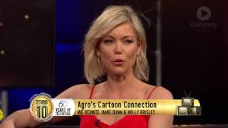 Agro & Holly Brisley Reunite | Studio 10