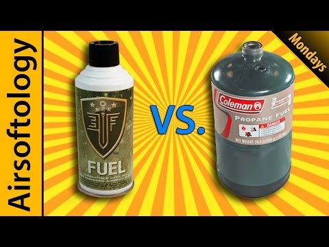 Green Gas vs Propane. Velcro Beards and Face Mask Options   Airsoftology Mondays