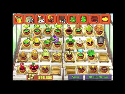 PvZ Plants Vs Zombies Completed Zen Garden All Plants Possible