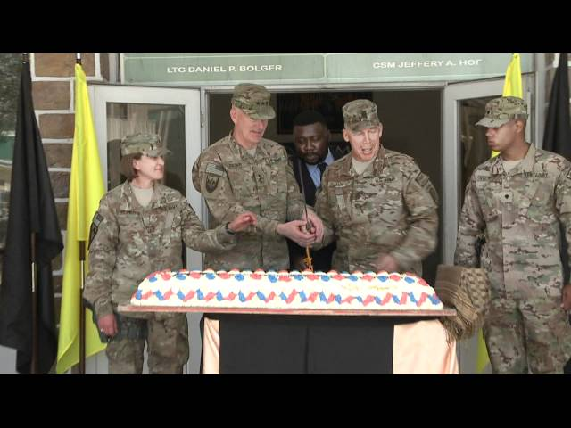 237th Army Birthday Ceremony Camp Eggers.mpg