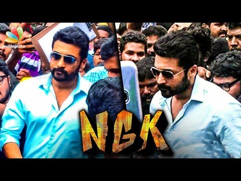 Suriya's NGK Shoot Stopped : Mobbed by Fans | Selvaraghavan Movie | Hot Tamil Cinema News