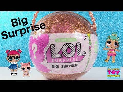 Big Surprise LOL Doll Surprise 50 Fun Blind Bag Finds Toy Review | PSToyReviews
