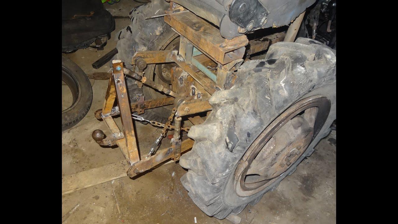 Как сделать самодельную гидравлику на самодельный трактор