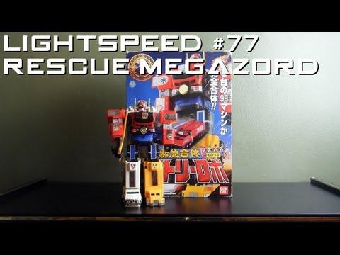 Ranger Review 77 The Lightspeed Rescue Megazord