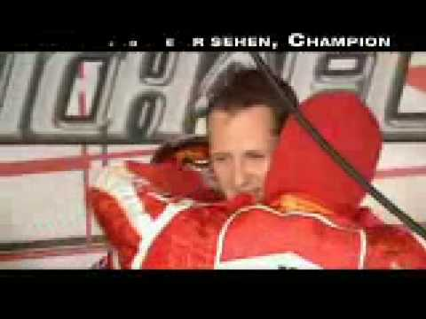 Michael Schumacher: Stand Up For The Champion -  Tribute video