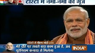 PM Modi: India will produce nuclear energy to help climate change problem - India TV
