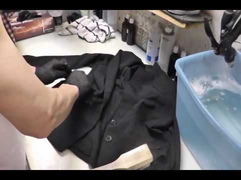 Dry clean only lady s jacket clean at home using home washer-DIY, HOW TO