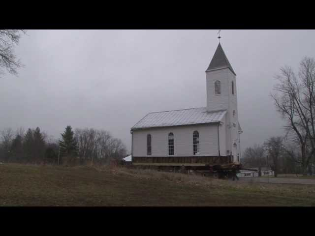 Moving the Santa Claus Church in HD