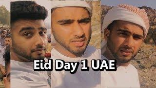 Day 1 Eid Life in Dubai Vlog - Eid Al Adha 2017