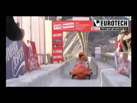 [Bobsleigh/bobslee] Dutch team Kamphuis second place World Cup bobsleigh Cesana Italy