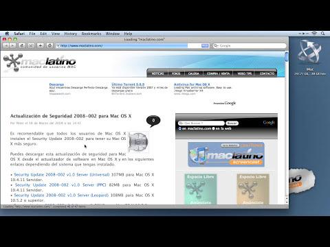 Screencast 008 - Configurar cuentas de correo POP y Gmail en el Mail de Mac OS X