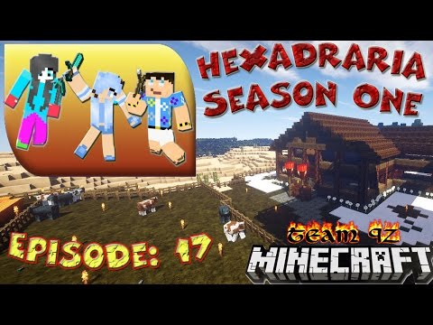 Minecraft (Real Family) Adventure. Hexadraria: ep. 17