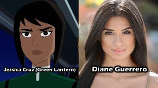Characters and Voice Actors - Justice League vs. The Fatal Five