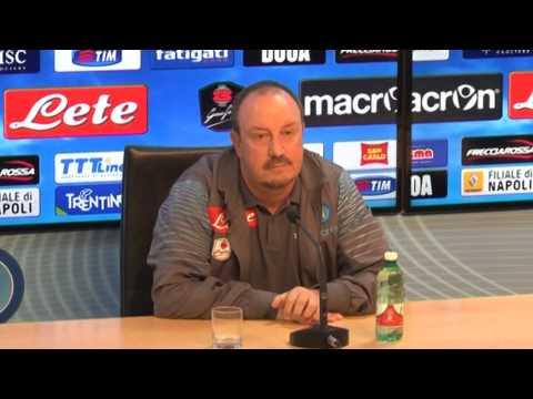 Sassuolo-Napoli - Conferenza di Rafael Benitez (27.09.14)