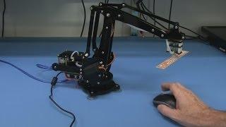 EEVblog #586 - Open Source Hardware uARM 4-Axis Desktop Robotic Arm Kickstarter