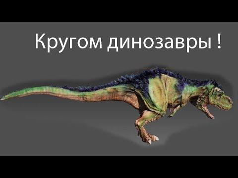 Кругом динозавры !