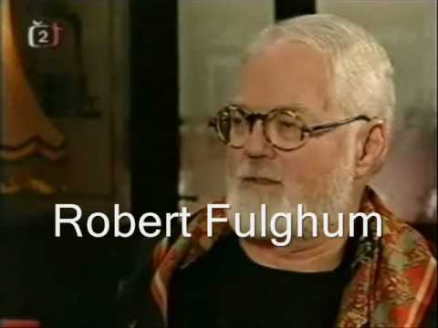 Robert Fulghum na Mate�ince v Nymburce