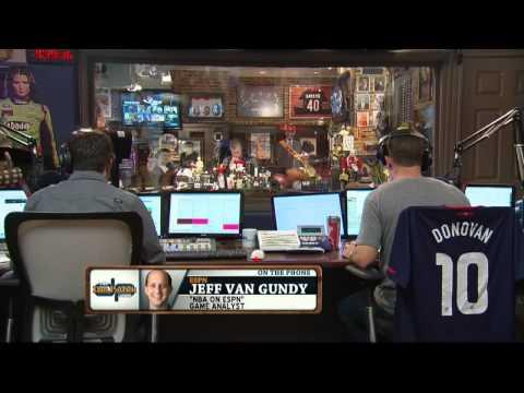 Jeff Van Gundy on the Dan Patrick Show 5/23/14
