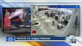 Private vc. public prisons
