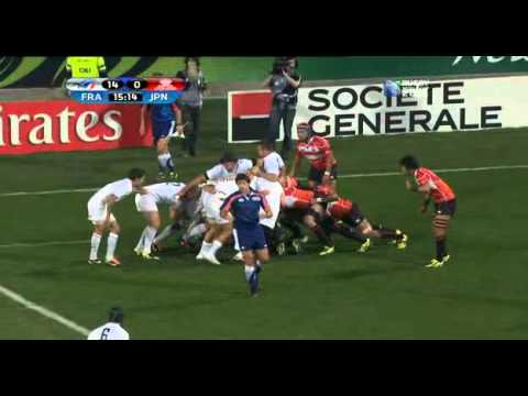 Rugby union France vs Japan at Auckland, New Zealand part 2.