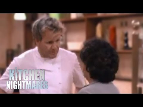 Gordon Ramsay Argues with Awkward Old Lady - Ramsay s Kitchen Nightmares