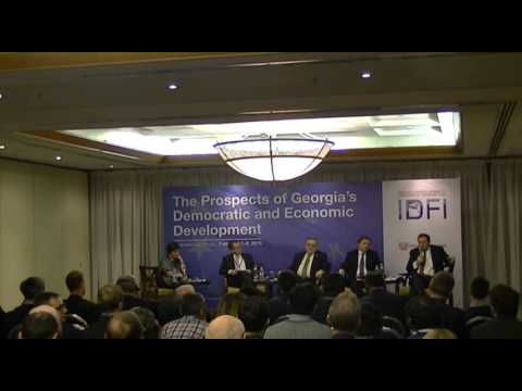 Part V - International Forum: The Prospects Of Georgia's Democratic And Economic Development