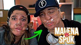 DESAFIO DOS 5 SEGUNDOS! - Malena vs Spok