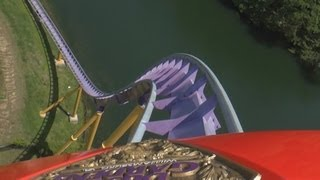 Apollo's Chariot (On-Ride) Busch Gardens Williamsburg