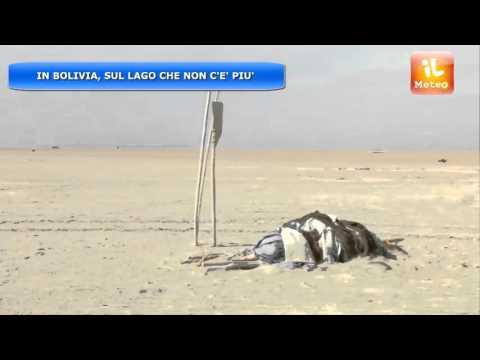 METEO ESTERO : SCOMPARE LAGO POOPO IN BOLIVIA