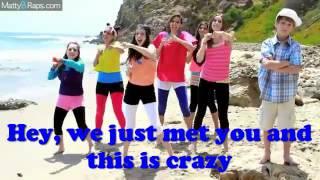 MattyB and Cimorelli - Don't call me baby (Call me maybe Parody) LYRICS ON SCREEN
