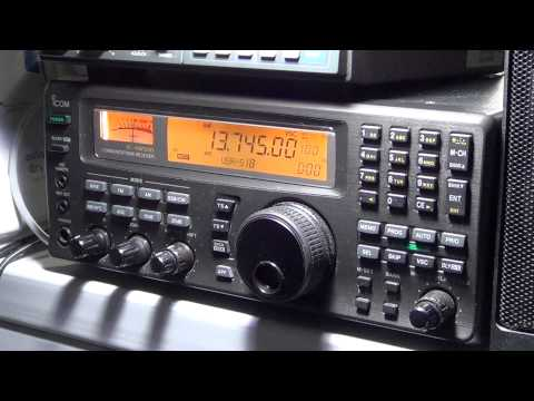 Radio Thailand on Icom IC R 8500