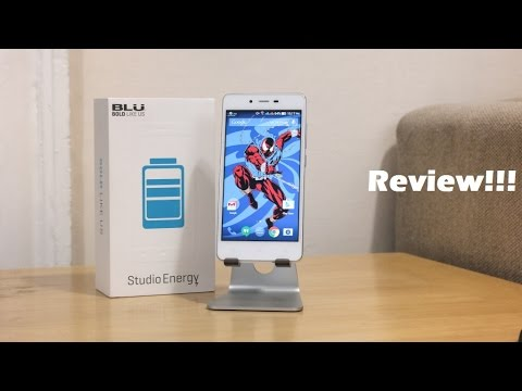 Blu Studio Energy Review [5,000mAh]