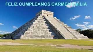 Carmen Emilia   Landmarks & Lugares Famosos - Happy Birthday