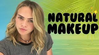No Makeup-Makeup Look // Chit Chat GRWM | Summer Mckeen