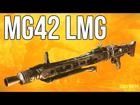 WW2 In Depth: MG42 LMG (Call of Duty: WWII)