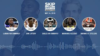 UNDISPUTED Audio Podcast (05.14.19) with Skip Bayless, Shannon Sharpe & Jenny Taft | UNDISPUTED