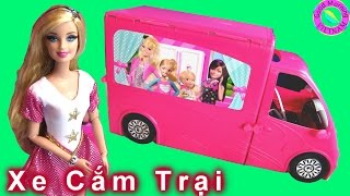 💓Xe Cắm Trại Mới Của Barbie (Chị Bí Đỏ) 💓 Barbie Sisters Life in The Dreamhouse Camper New