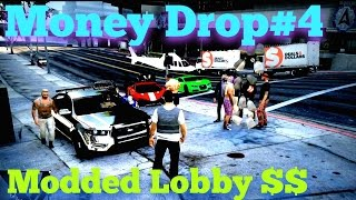 GTA 5 ONLINE #4 $$ Non Stop Cash Drop!! Open Lobby - ( PS3 Game Play )