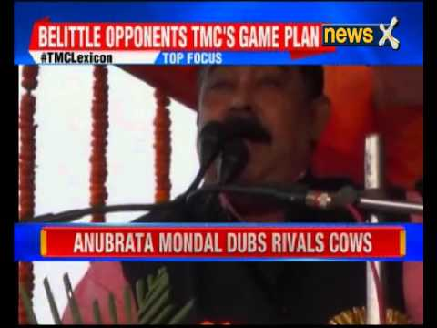 TMC's Birbhum district president Anubrata Mandal dubs rivals as cows