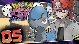 A HORRIBLE FIRST GYM BATTLE! Pokemon Renegade Platinum Extreme Dicelocke Part 05 w/ HDvee