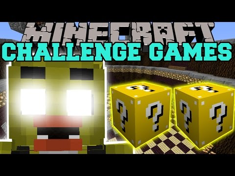 Minecraft: Chica Challenge Games - Lucky Block Mod - Modded Mini-game video