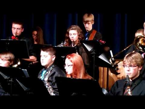 Merrimack Valley High School 2013 Autumn Concert - Jazz Band - Work Song - Nat Adderley