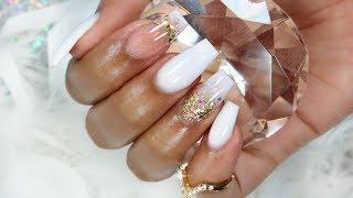 BRIGHT WHITE FANTASY NAILS