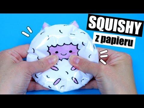 Jak Zrobić Squishy Z Papieru! DIY SQUISHY BEZ GĄBKI