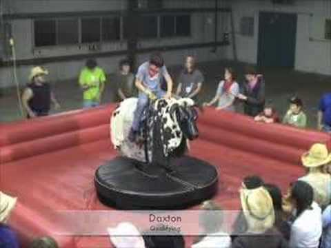 Middle School Boys Bull Riding