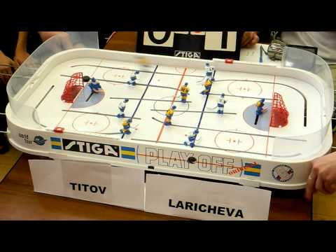 Настольный хоккей. Table Hockey. MoscowCup13. Titov-Laricheva 7